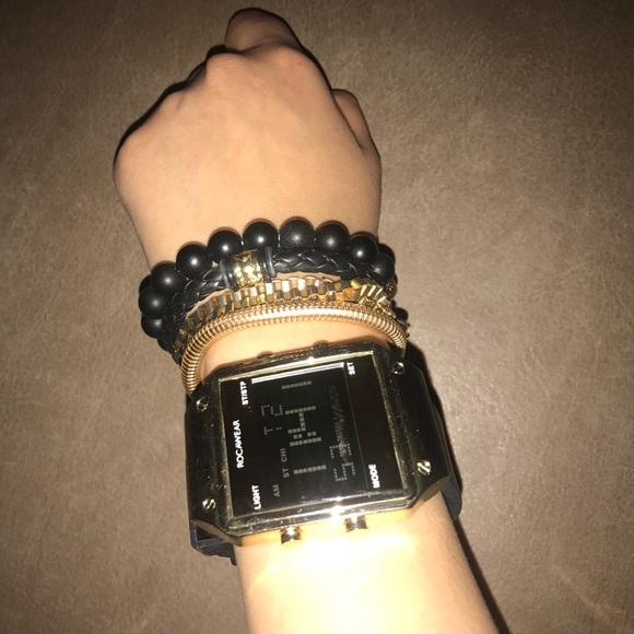 Rocawear Accessories Watch Set With Bracelets Poshmark